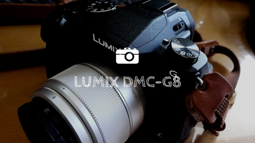 『LUMIX DMC-G8』軽くて多機能な子育て世代にぴったりのカメラ