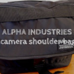『ALFA INDUSTRIESカメラショルダーバッグ』レビュー!気軽にカメラを持ち出せるカメラバッグ