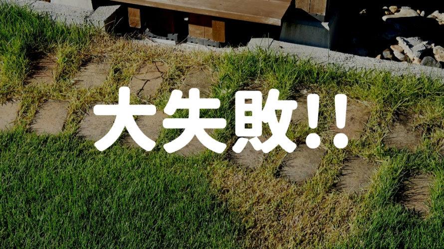 殺虫剤で芝生が大ダメージ!芝生に殺虫剤はダメみたい