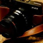X-E3にTPoriginalの本革カメラケースを購入したのでレビューするよ